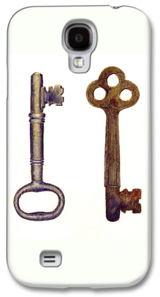 Skeleton Keys Galaxy S4 Case