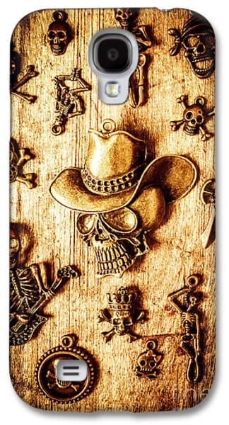 Galaxy S4 Case featuring the photograph Skeleton Pendant Party by Jorgo Photography - Wall Art Gallery