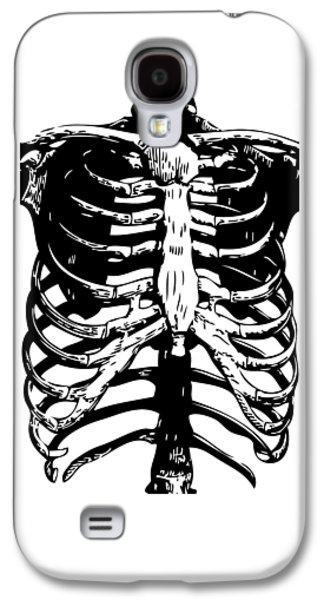 Skeleton Ribs Galaxy S4 Case