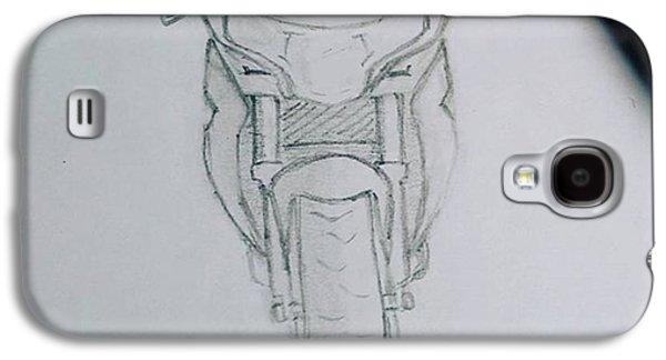 Sket Cbr250r #cbr250r Galaxy S4 Case