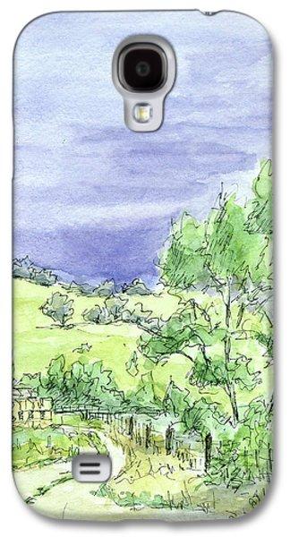 Sketchbook 038 Galaxy S4 Case