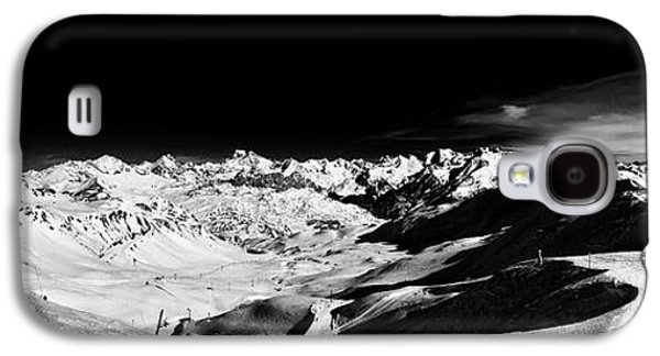 Ski Panorama Galaxy S4 Case by Contemporary Art