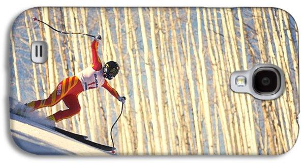 Skiing In Aspen, Colorado Galaxy S4 Case