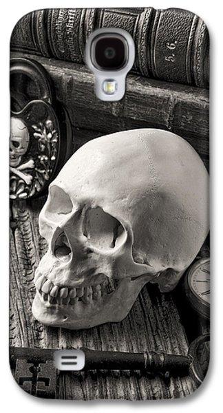 Skull And Skeleton Key Galaxy S4 Case