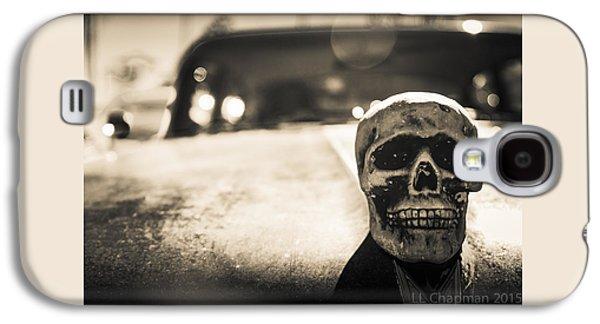 Skull Car Galaxy S4 Case by Lora Lee Chapman