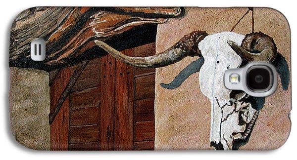 Skull En La Casa Galaxy S4 Case by Timithy L Gordon
