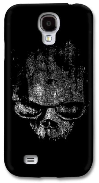 Skull Graphic Galaxy S4 Case by Edward Fielding