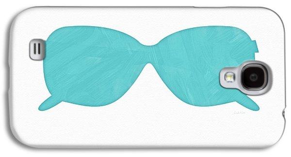 Sky Blue Sunglasses- Art By Linda Woods Galaxy S4 Case by Linda Woods