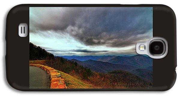 Sky Line Drive Virginia Galaxy S4 Case