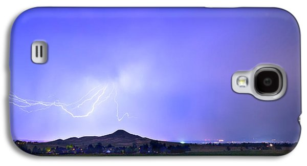 Galaxy S4 Case featuring the photograph Sky Monster Above Haystack Mountain by James BO Insogna