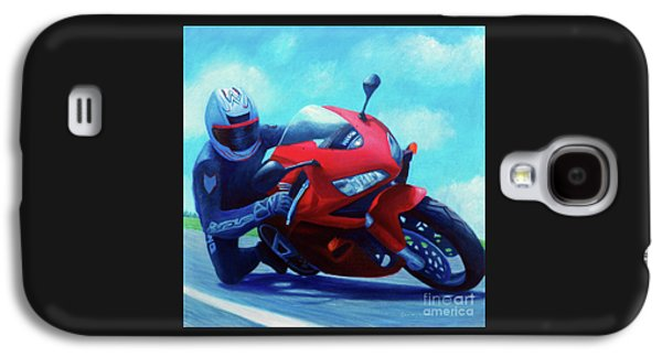Sky Pilot - Honda Cbr600 Galaxy S4 Case by Brian  Commerford