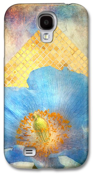 Modern Abstract Galaxy S4 Cases - Sky Poppy Galaxy S4 Case by Aimee Stewart