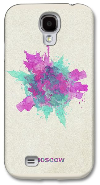 Moscow Galaxy S4 Case - Skyround Art Of Moscow, Russia by Inspirowl Design