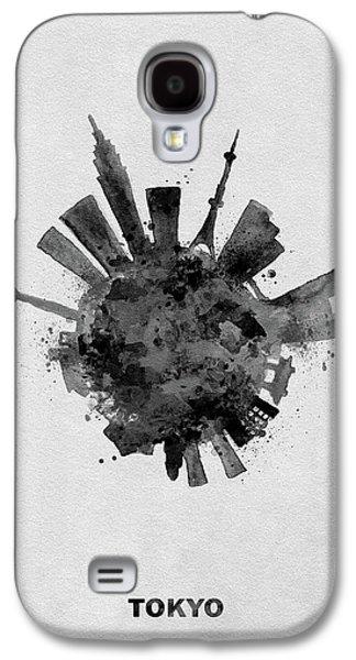 Black Skyround / Skyline Art Of Tokyo, Japan Galaxy S4 Case