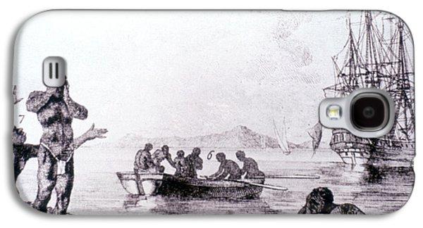 Slaves Galaxy S4 Cases - Slave Trade, 1783 Galaxy S4 Case by Granger