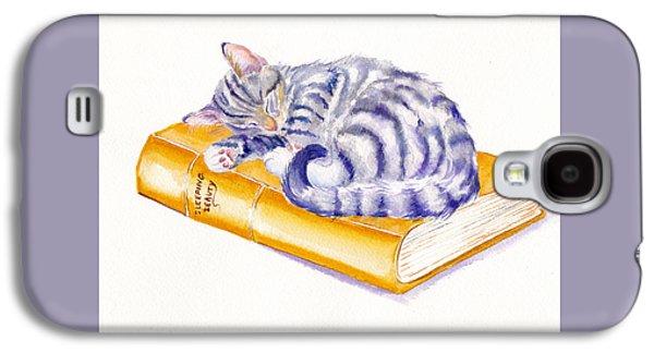Cat Galaxy S4 Case - Sleeping Beauty by Debra Hall