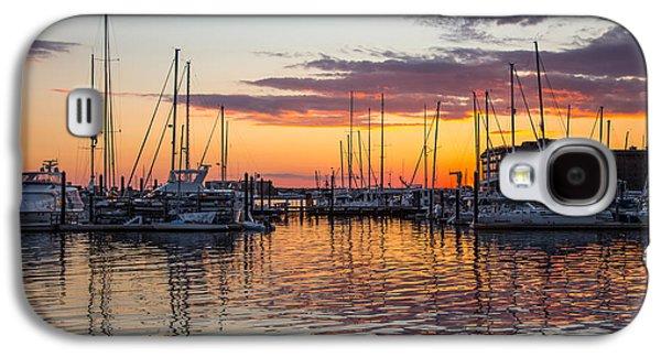 Sleeping Boats Galaxy S4 Case by Karol Livote
