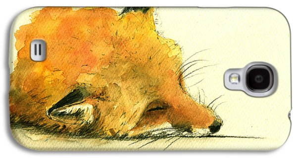 Sleeping Fox Galaxy S4 Case