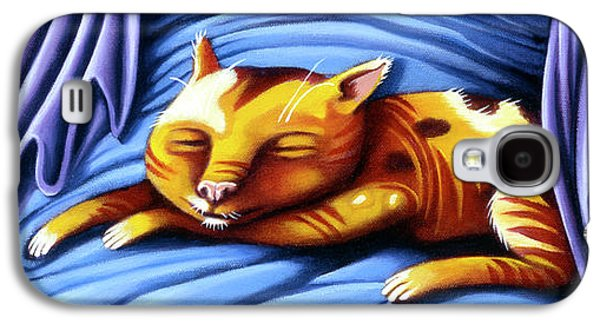 Sleeping Kitty Galaxy S4 Case
