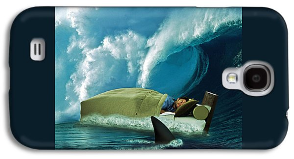 Sleeping With Sharks Galaxy S4 Case by Marian Voicu