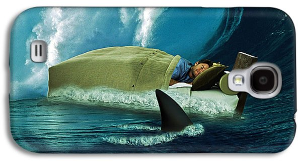 Sleeping With Sharks Galaxy S4 Case