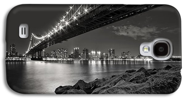 Architecture Photographs Galaxy S4 Cases - Sleepless Nights And City Lights Galaxy S4 Case by Evelina Kremsdorf