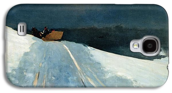 Sleigh Ride Galaxy S4 Case by Winslow Homer