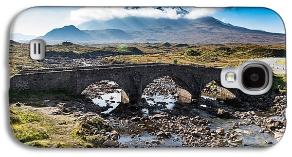 Galaxy S4 Case featuring the photograph Skye Cuillin From Sligachan by Gary Eason