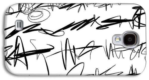 Sloppy Writing Galaxy S4 Case