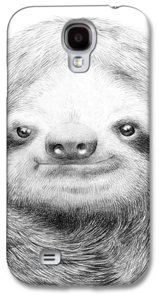 Sloth Galaxy S4 Case by Eric Fan