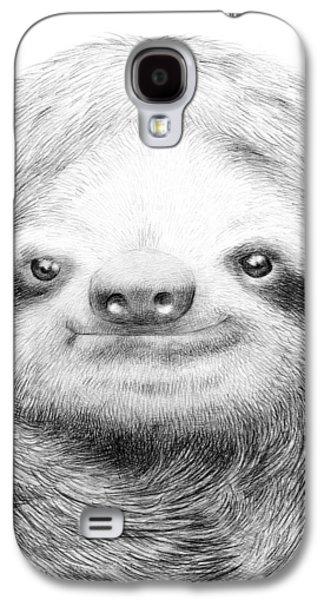 Sloth Galaxy S4 Case by Eric Fan