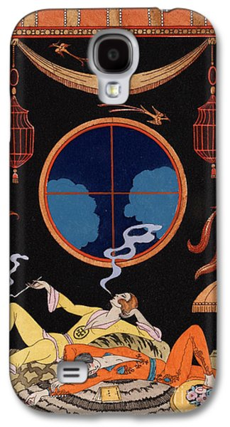 Sloth Galaxy S4 Case by Georges Barbier