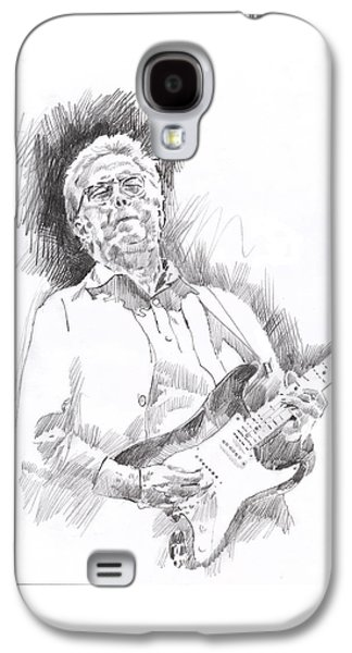 Slowhand Galaxy S4 Case by David Lloyd Glover
