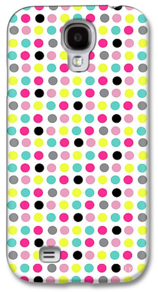 Small Dots Galaxy S4 Case by Louisa Knight
