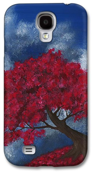 Galaxy S4 Case featuring the painting Small World by Anastasiya Malakhova