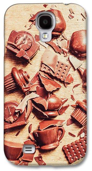 Smashing Chocolate Fondue Party Galaxy S4 Case by Jorgo Photography - Wall Art Gallery