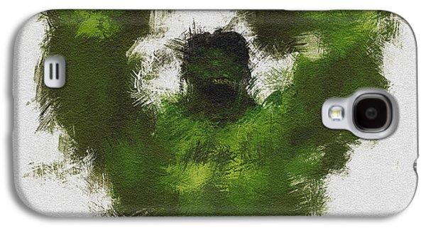 Smashing Green Galaxy S4 Case by Miranda Sether