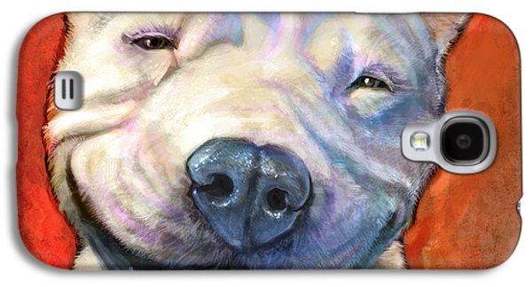 Smile Galaxy S4 Case by Sean ODaniels