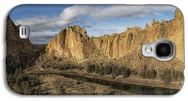 Smith Rock And Crooked River Panorama Galaxy S4 Case
