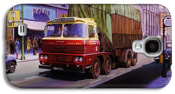 Smith's Scammell Routeman II Galaxy S4 Case by Mike  Jeffries
