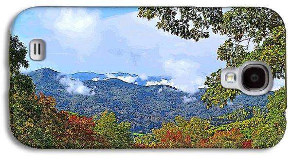 Smokey Mountain Mountain Landscape - A Galaxy S4 Case