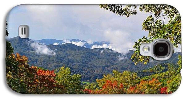 Smokey Mountain Mountain Landscape Galaxy S4 Case