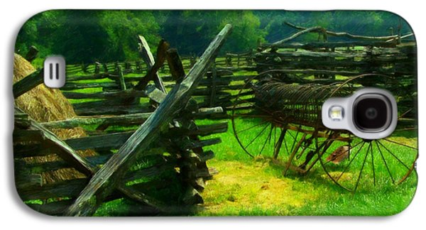 Smoky Mountain Farm 1900s Galaxy S4 Case by Chris Flees