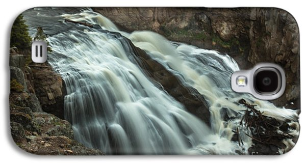 Smooth Water Of Gibbon Falls Galaxy S4 Case by Robert Bales