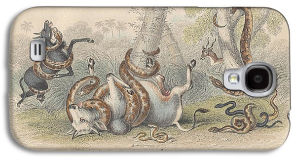 Snakes Galaxy S4 Case