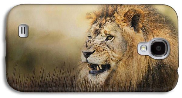 Snarling Galaxy S4 Case by Jai Johnson