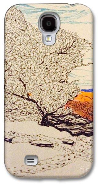 Snow Above The Desert  Galaxy S4 Case by Ishy Christine Degyansky