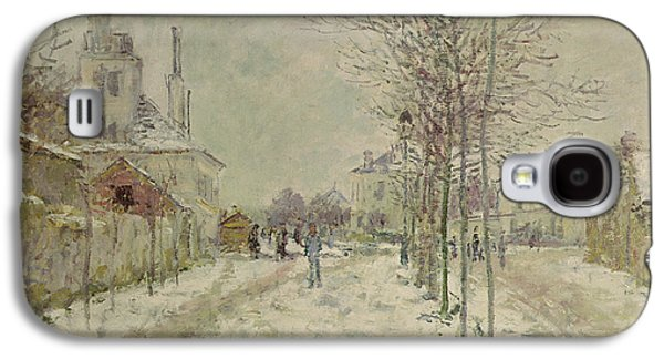 Snow Effect Galaxy S4 Case by Claude Monet