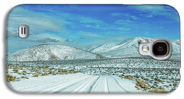 Snow In Death Valley Galaxy S4 Case