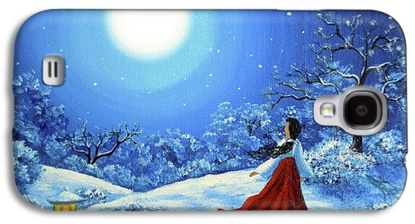 Snow Like Stars Galaxy S4 Case